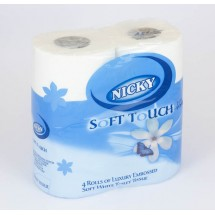 2ply Nicky Toilet Rolls x 40