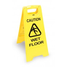 Wet Floor Sign A Frame